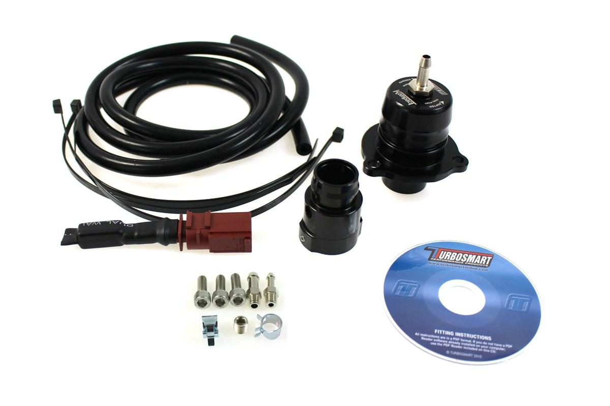 BLOW OFF Turbosmart V2 Dual Port VW AUDI 1.8T 2.0T - GRUBYGARAGE - Sklep Tuningowy